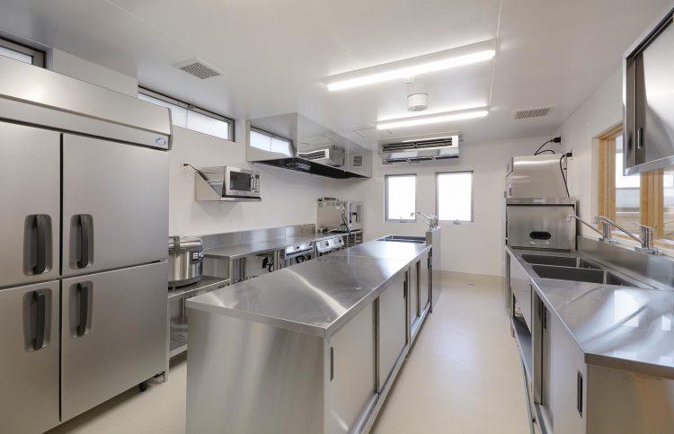名古屋市守山区の保育園 調理室