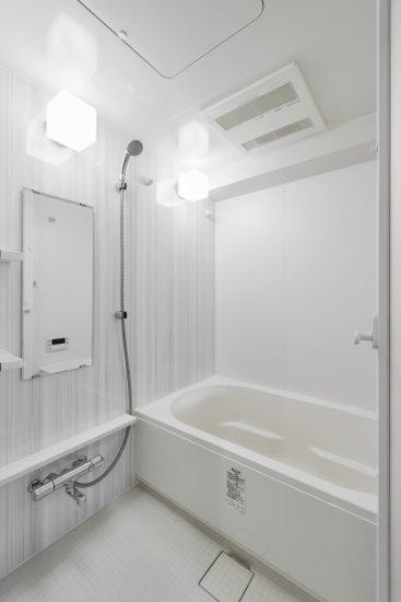 名古屋市瑞穂区のカラフル賃貸マンション施工例 バスルーム