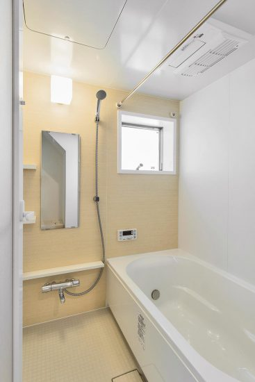 名古屋市瑞穂区の戸建賃貸住宅 浴室