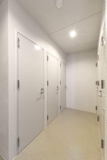 名古屋市瑞穂区のカラフル賃貸マンション施工例 トランクルーム