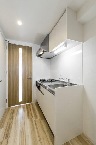 新築賃貸マンションのキッチン