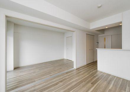 名古屋市中村区の賃貸マンションの洋室と合わせて使えるLDK