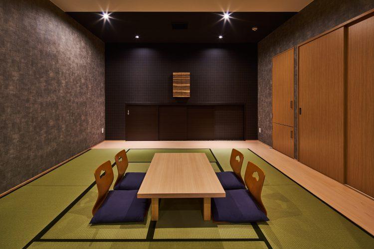 名古屋市南区の商業施設:葬儀場の和室