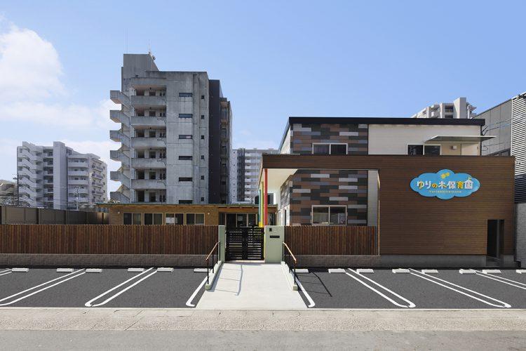 名古屋市天白区の駐車場付の保育園