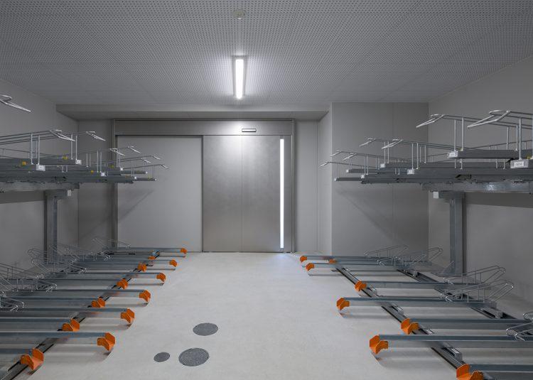 名古屋市北区の賃貸マンションの駐輪場