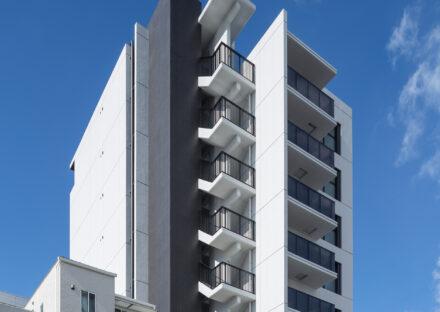 名古屋市北区のモダンなデザインの賃貸マンション