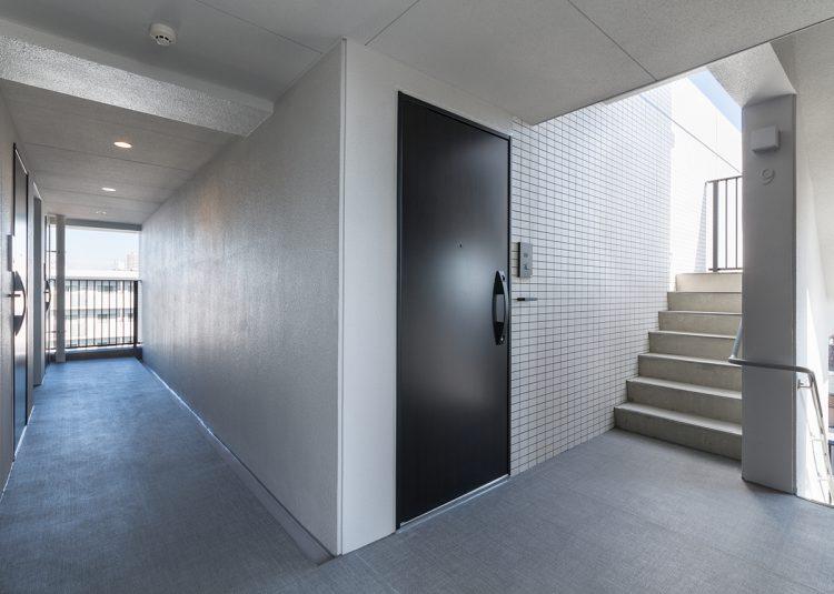 名古屋市北区の賃貸マンション共用廊下