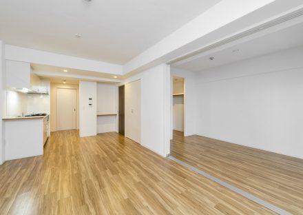 名古屋市名東区の賃貸マンションの収納も付いたLDK+洋室