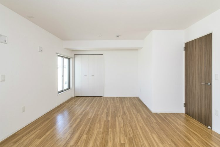 名古屋市名東区の賃貸マンションのクローゼット付洋室