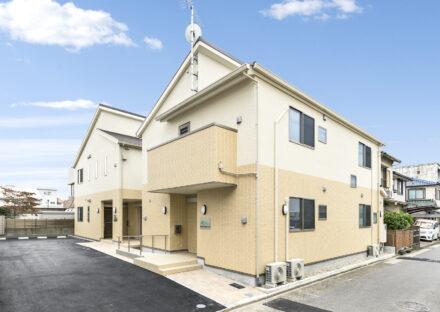 名古屋市北区の介護施設の木造2階建ての介護施設2棟