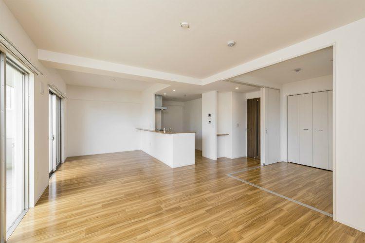 名古屋市名東区の賃貸マンションの広く使えるLDK+洋室