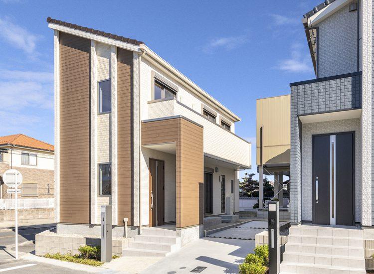 戸建賃貸住宅の外観写真