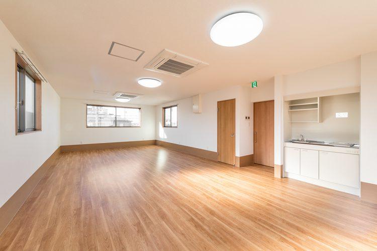 名古屋市北区の介護施設の多目的ホール写真