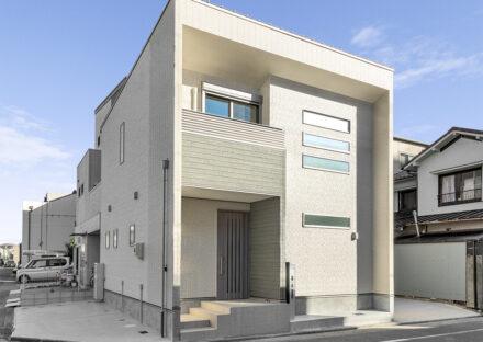 名古屋市瑞穂区の戸建賃貸住宅の30坪の土地に建つ賃貸戸建の外観写真