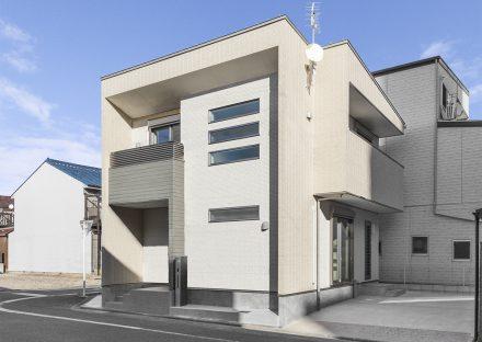名古屋市瑞穂区の戸建賃貸住宅の約30坪の土地に建つ戸建賃貸住宅 外観写真