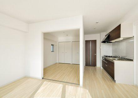 名古屋市東区の賃貸併用マンションの洋室&LDK