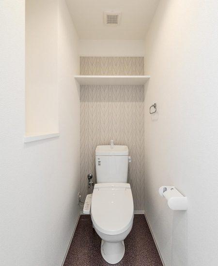 名古屋市西区の賃貸マンションのおしゃれなトイレ