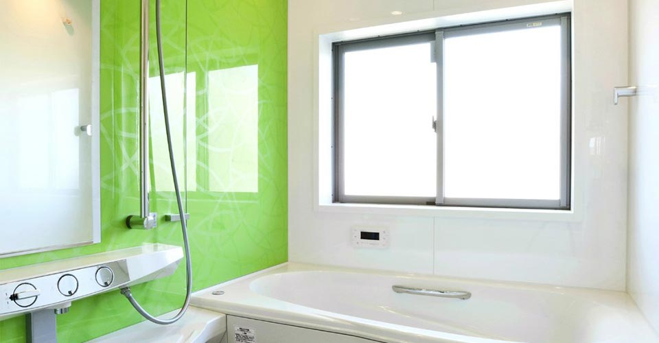 注文住宅の浴室 新築写真