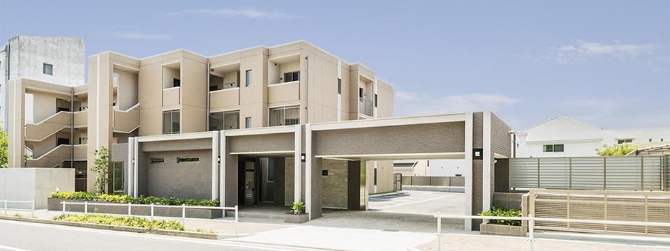 賃貸マンションの外観 新築写真
