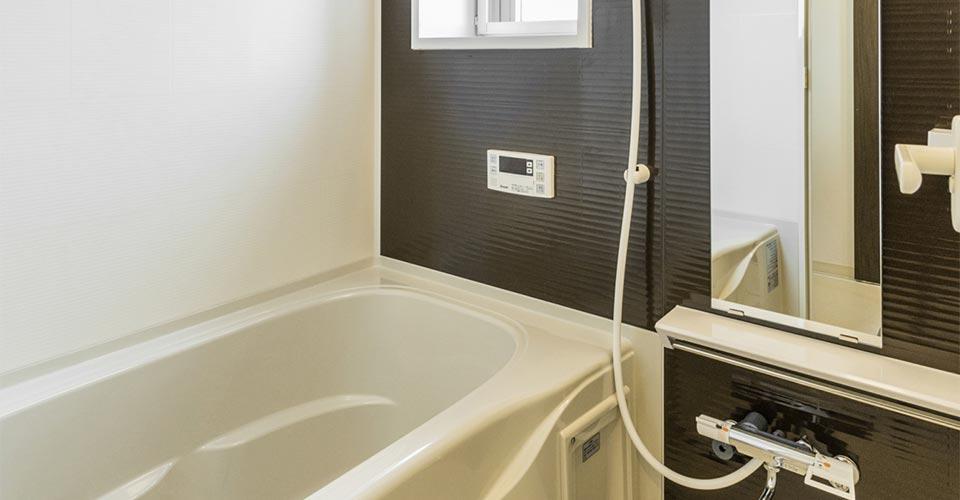 賃貸マンションの浴室 新築写真