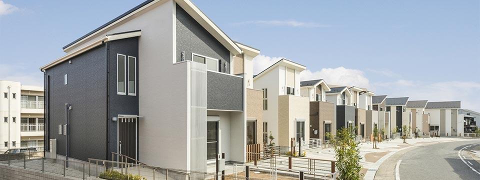 戸建賃貸住宅の外観 新築写真