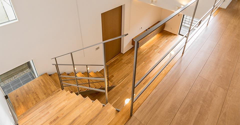 注文住宅の階段 新築写真集