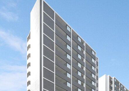 名古屋市東区のモダンなデザイン賃貸マンション