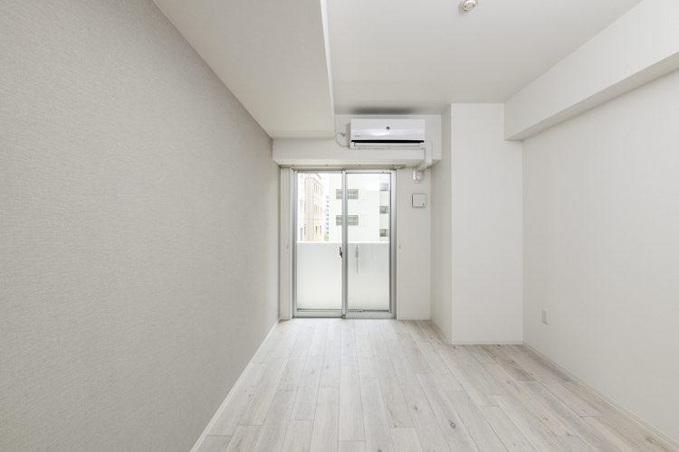 名古屋市中区の賃貸マンションのエアコン付きの洋室