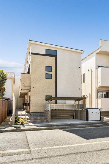 名古屋市中村区のロフト付き賃貸アパートのナチュラルカラーのメゾネット2階建て木造アパート