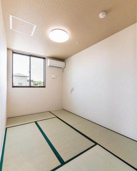 愛知県春日井市の小規模多機能施設の居室(和室)