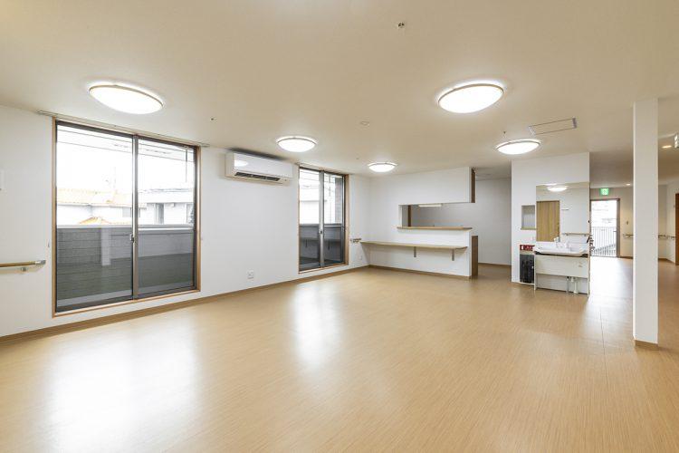 愛知県春日井市のグループホーム の2F居間&食堂