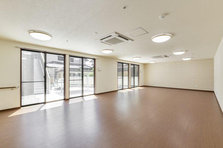 愛知県春日井市のサービス付き高齢者住宅の居間&食堂