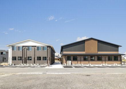 愛知県春日井市のグループホーム・サービス付き高齢者住宅の外観