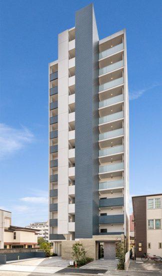 名古屋市中川区の賃貸マンションの13階建ての賃貸マンション