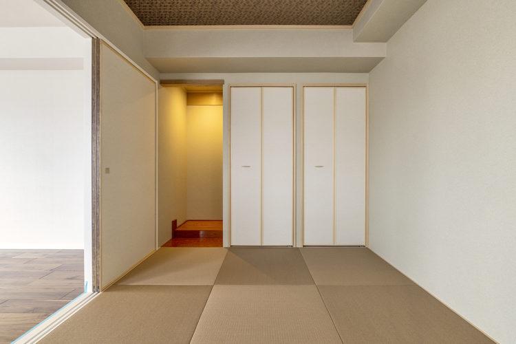 名古屋市天白区の賃貸マンション併用住宅の床の間のあるシンプルな和室