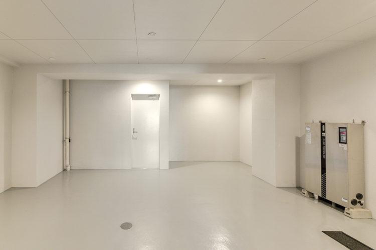 名古屋市東区の賃貸マンションの広さのある駐輪場