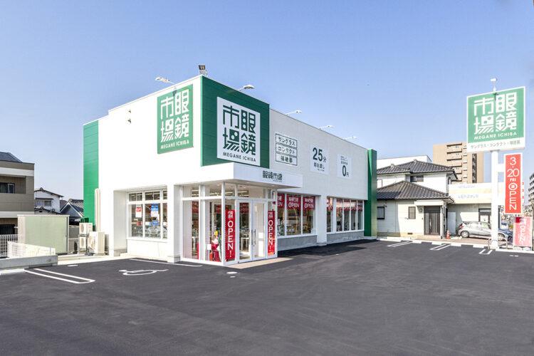 愛知県春日井市の駐車場付きの店舗